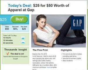 Gap Get 50 for 25