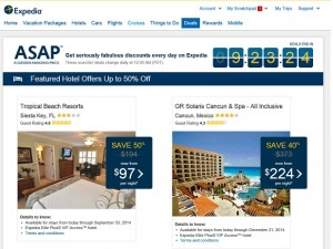 Expedia ASAP Deals