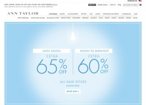 Ann Taylor Sale July 2014