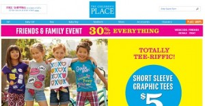 Children's Place - 30 Off July 2014