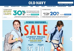 Old Navy - 20 Percent Off